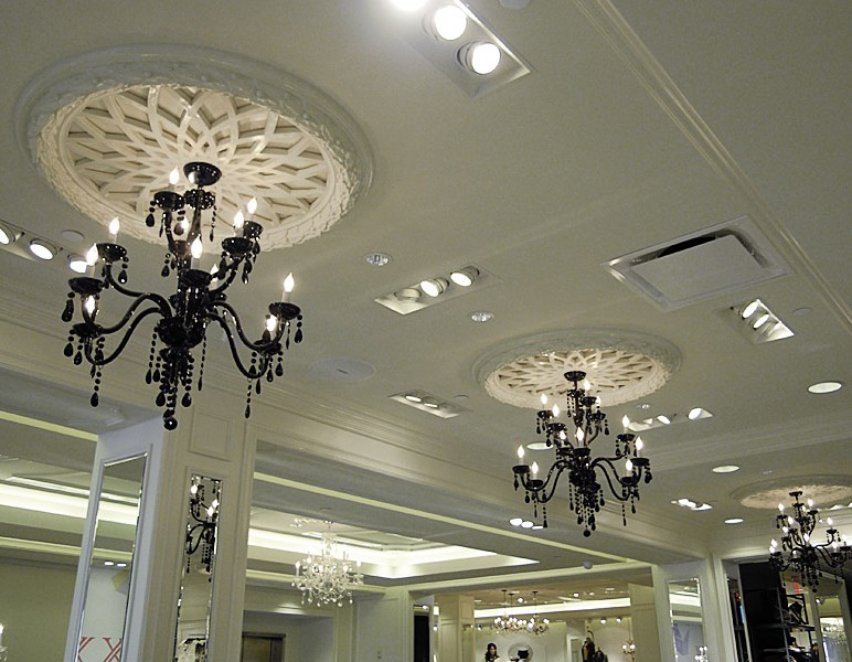Superb Round Ceiling Medallions